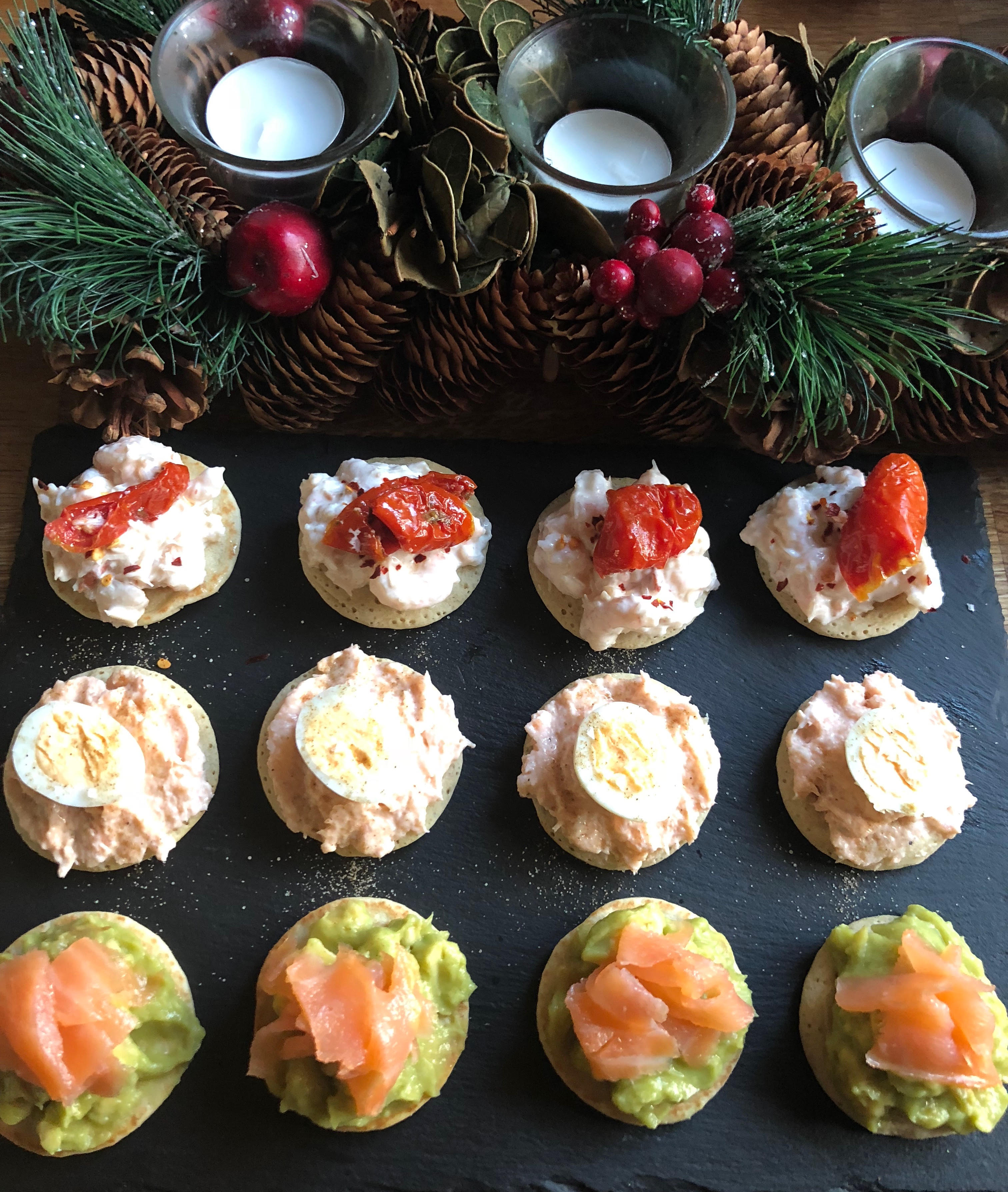 Christmas canap s e book smart nutrition for Christmas canape