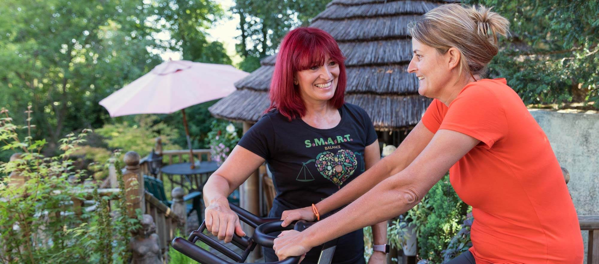 fitness and wellness training for women over 40